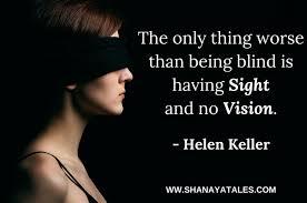 sight but no vision
